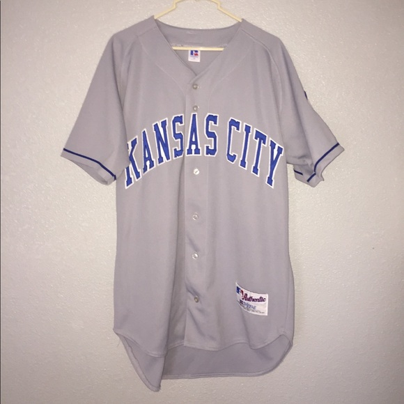 9b832f4e4 Authentic Kansas City Russell Athletics Jersey